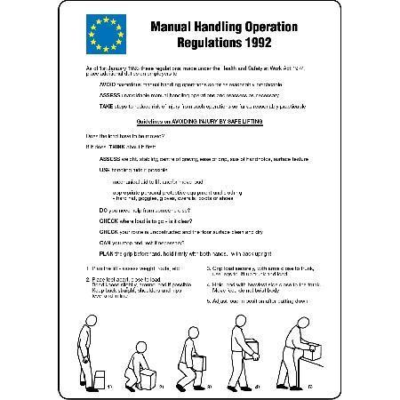 identify the regulations covering manual handling Download regulations covering manual handling and as part of the manual handling operations regulations sexual abuse can be almost impossible to identify and.