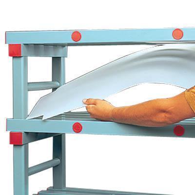 ... Cover Storage Shelves : Shelf Covers Plastic Shelving Racking ...