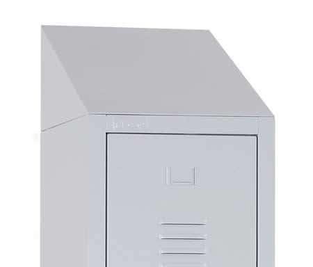 Sloping Top for Industrial Lockers