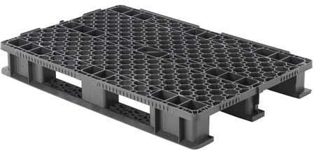 Extra Heavy Duty Reinforced Recycled Plastic Pallets