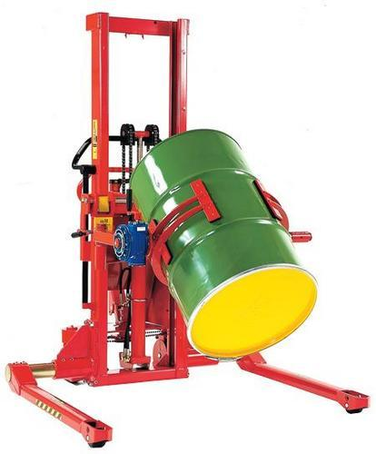 Drum Turners for Straddle Manual & Electric Stackers
