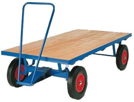 Flat Deck Turntable Truck with Handle