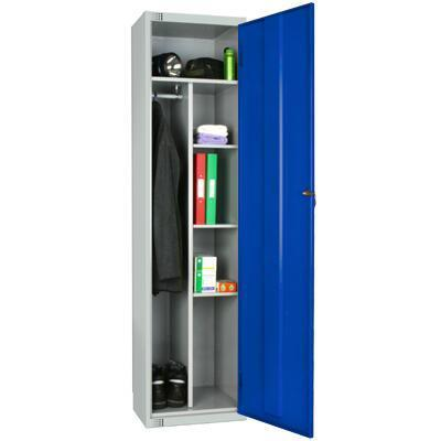Anti-Bacterial Uniform Lockers - 1800x450x450mm