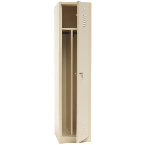 Clean & Dirty Locker with Plinth - Beige Body & Cylinder Lock - 1800x415x500mm